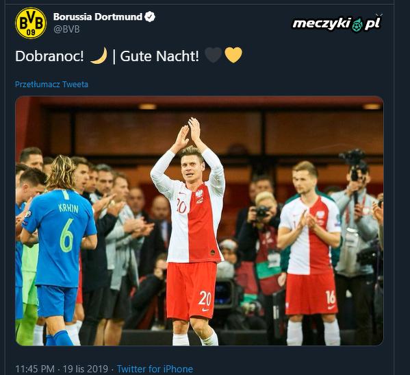 Miły gest Borussii Dortmund