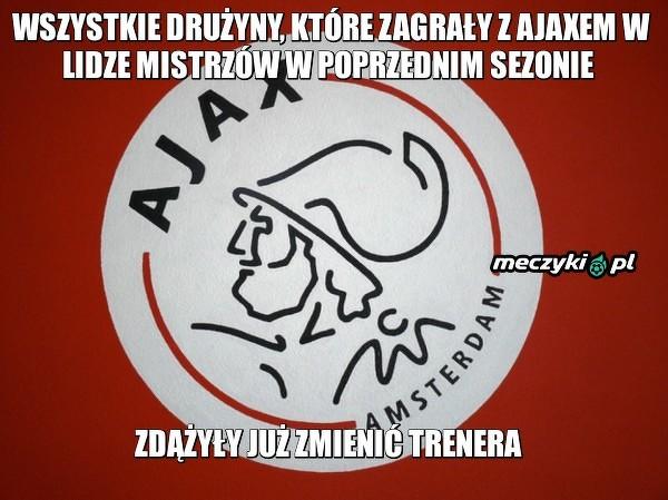 Lepiej nie trafić na Ajax w Lidze Mistrzów