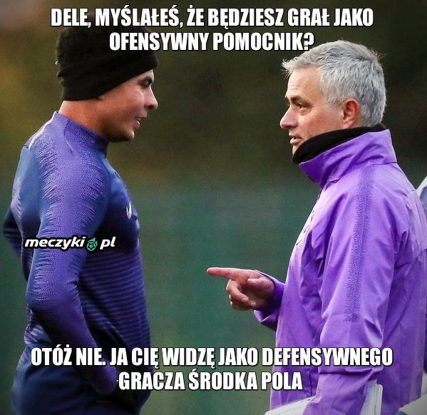 Mourinho i jego plan na Dele Alliego