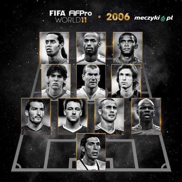 The FIFPro XI w 2006 roku