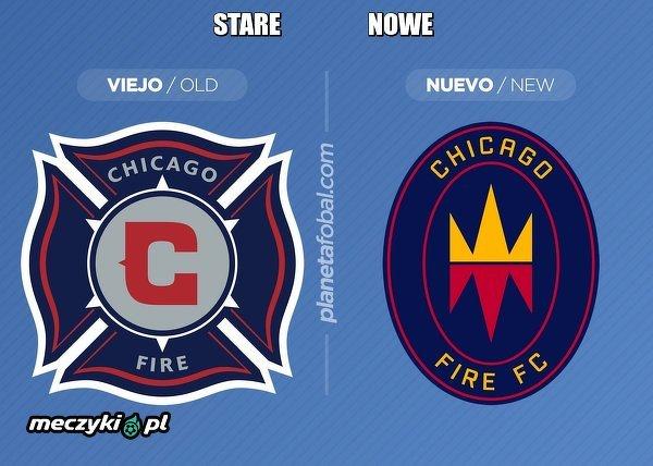 Klub MLS Chicago Fire zmienił swoje logo
