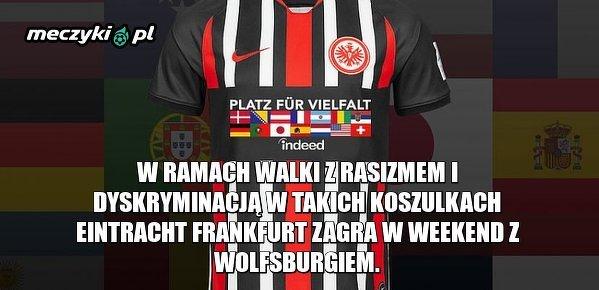 Wyjątkowe koszulki Eintrachtu Frankfurt