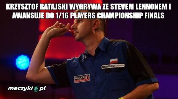 Wygrana Krzysztofa Ratajskiego!