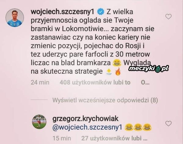Szczęsny skomentował występ Krychowiaka