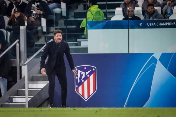 Tak Diego Simeone zareagował na gola Leo Messiego. Klasa sama w sobie [WIDEO]