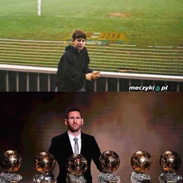 Droga jaką przeszedł Leo Messi