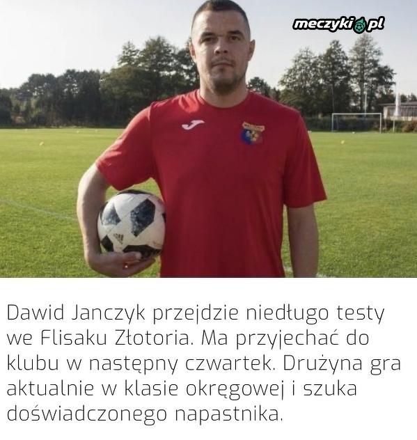 Janczyk zagra w lidze okręgowej