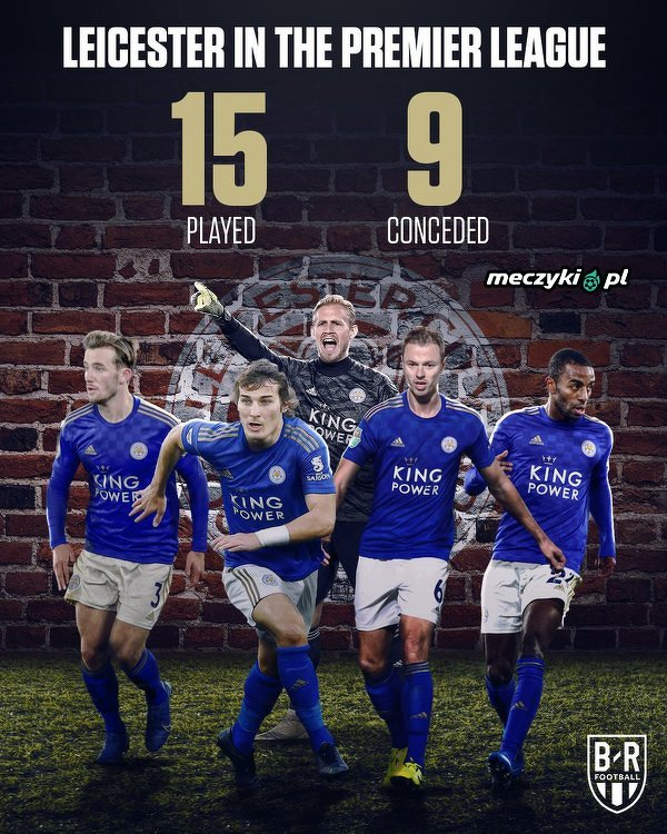 Żelazna defensywa Leicester City