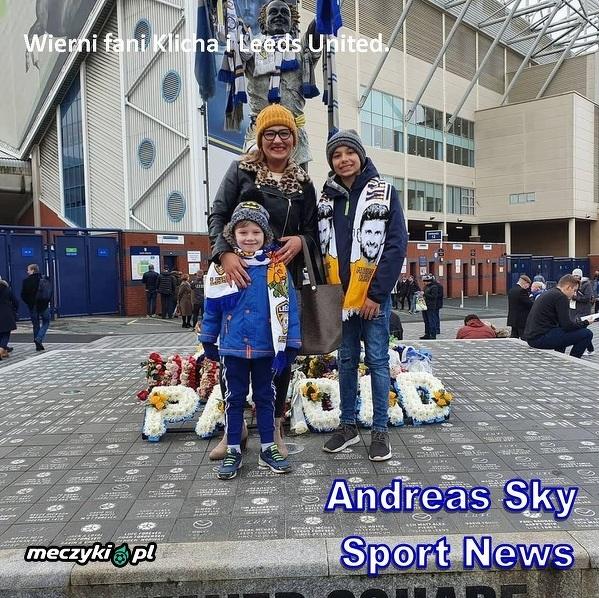 Wierni fani Klicha i Leeds United