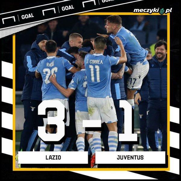Lazio pokonało Juventus
