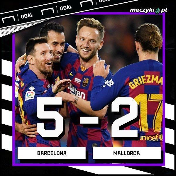 Ciekawy mecz, Barcelona górą