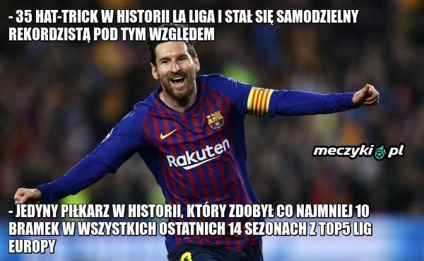 2 rekordy Messiego w meczu z Mallorcą