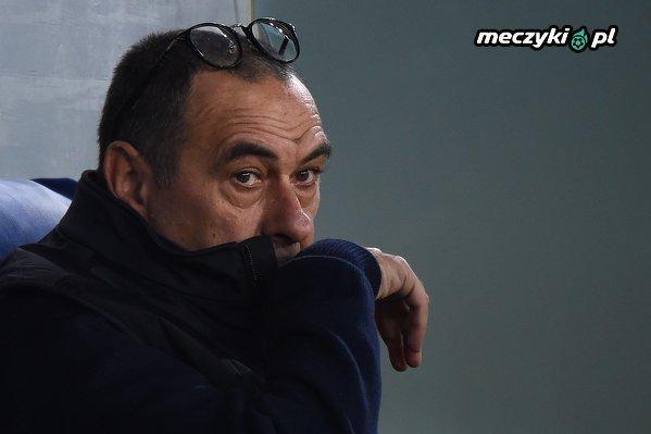 Sarri przegrał pierwszy mecz w Juventusie przerywając passę 19 meczów