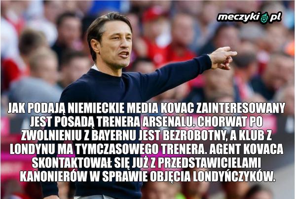 Kovac może zostać menedżerem Arsenalu