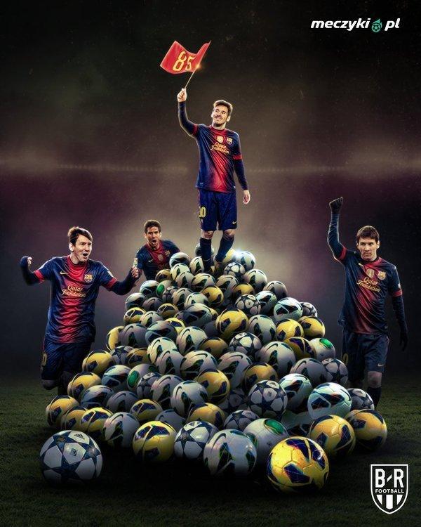Tego dnia w 2012 roku Messi strzelił rekordowego 85. gola w roku kalendarzowym. Ukończył rok z 91 bramkami