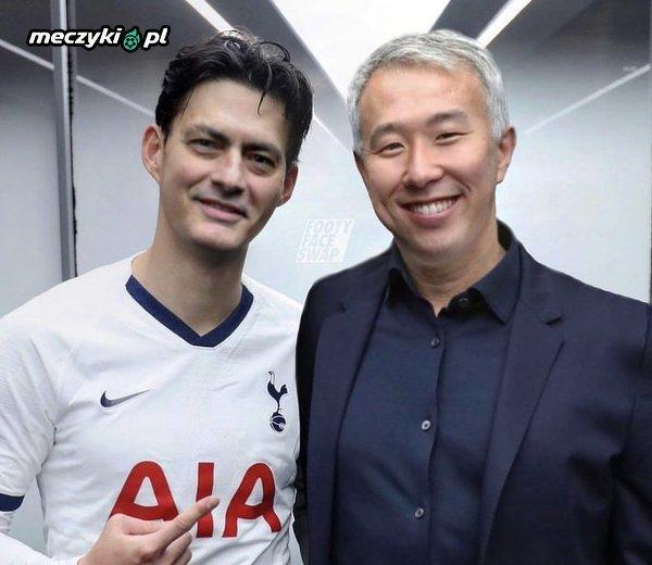 Takie tam zdjęcie Mourinho i Sona