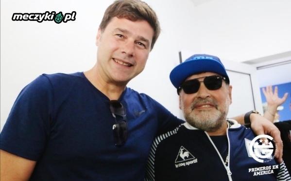 Pochettino spotkał się z Maradoną