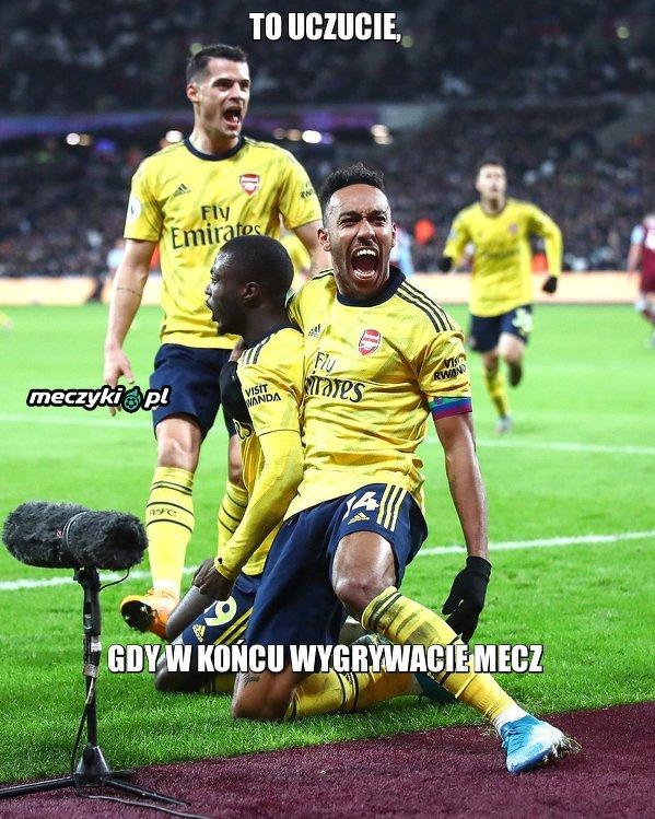 Piłkarze Arsenalu w końcu zdobyli 3 punkty