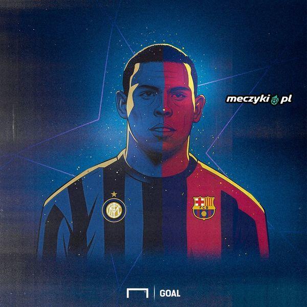 """Inter czy Barcelona - kto wygra """"derby Ronaldo""""?"""