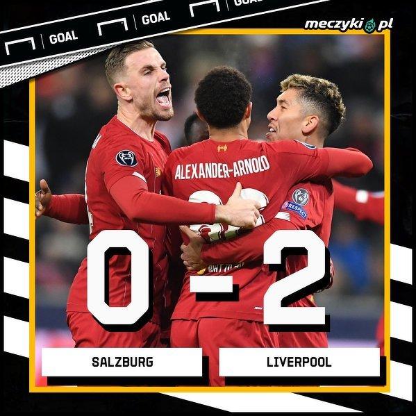 Liverpool wygrywa Grupę E