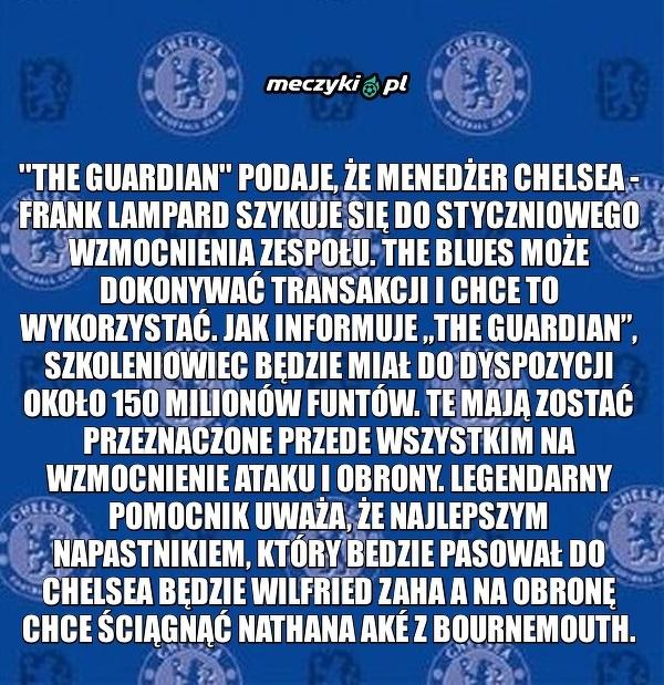 Chelsea ruszy na zakupy