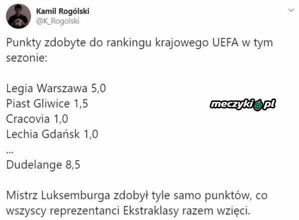 Dudelange zawstydziło polskie kluby