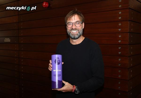 Klopp został trenerem miesiąca Premier League