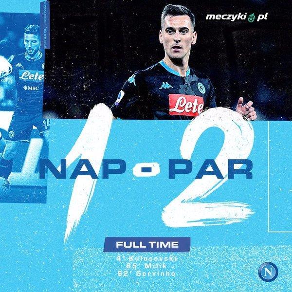 Napoli przegrywa w debiucie Gattuso