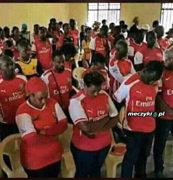Tymczasem kibice Arsenalu
