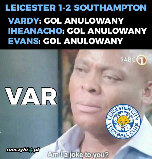Leicester nie miał szans