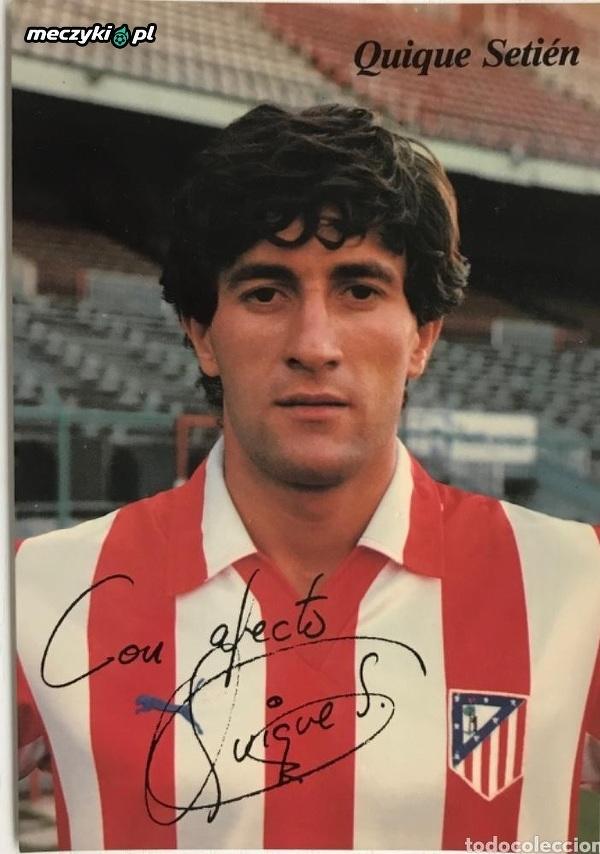 Quique Setien jako piłkarz Atletico w latach osiemdziesiątych