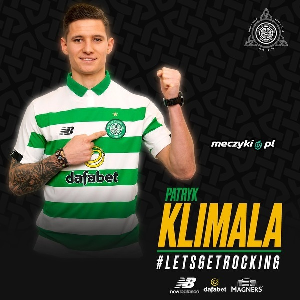 Oficjalnie: Patryk Klimala piłkarzem Celticu