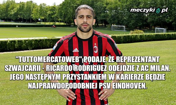 Rodriguez odchodzi z Milanu