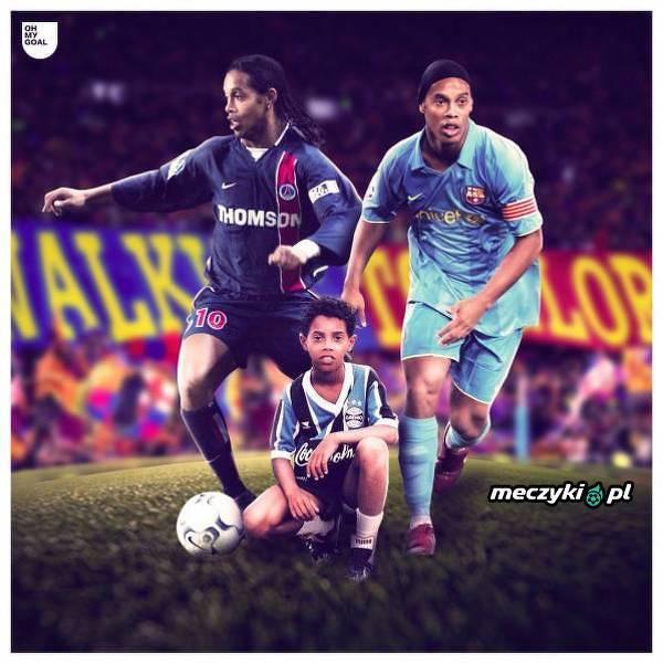 Dokładnie 19 lat temu Ronaldinho opuścił Brazylię i przybył do Europy