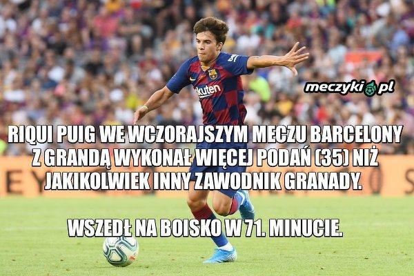 Imponujący wyczyn wychowanka FC Barcelony