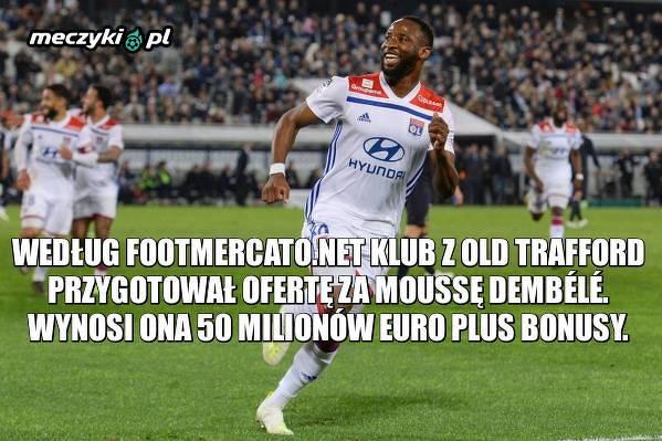 Manchester United w pogoni za snajperem Lyonu