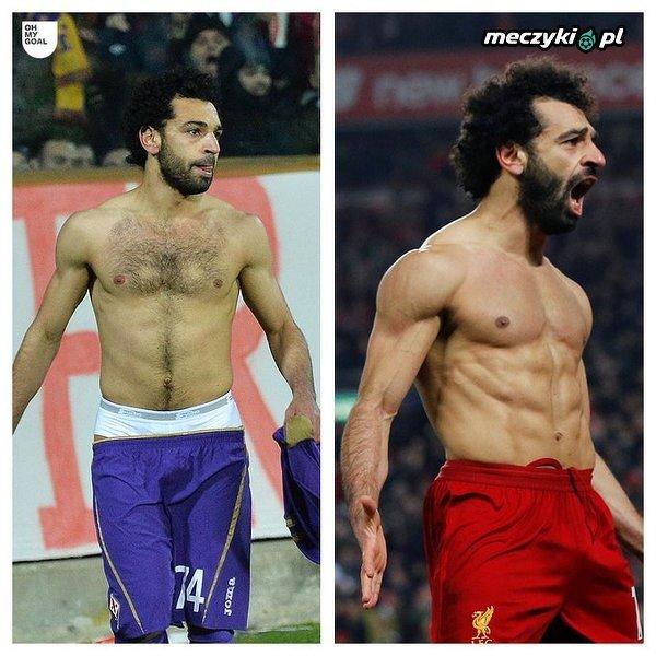Niesamowita transformacja Salaha