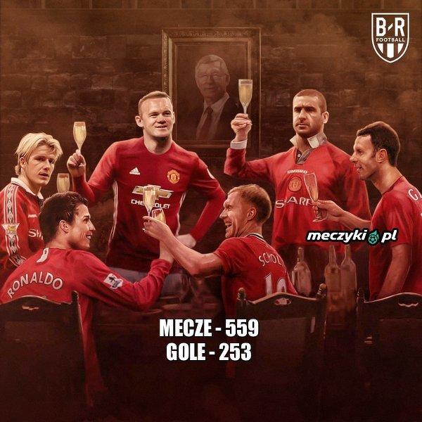 Dokładnie 4 lata temu Wayne Rooney został najlepszym strzlecem w historii Manchesteru United