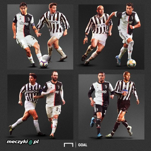 Jaki jest twój wymarzony duet Juventusu?