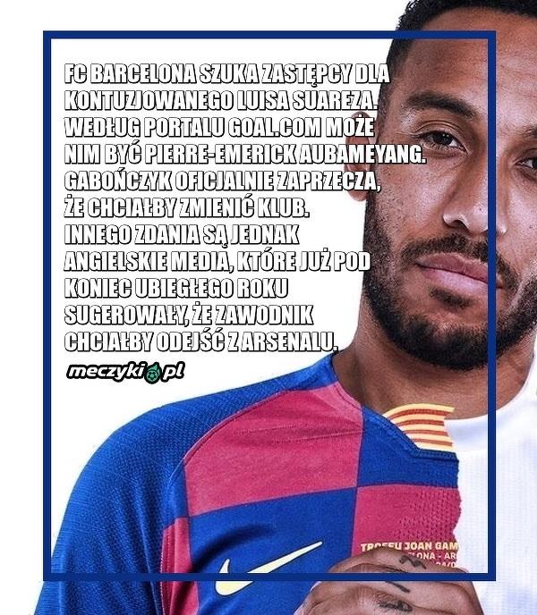 Barcelona wybrała zastępcę Suareza