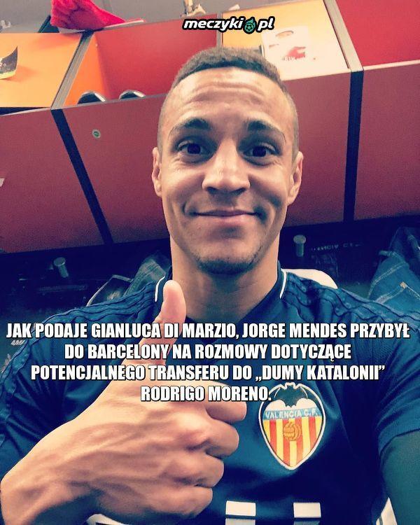 Barcelona rozmawia z Jorge Mendesem