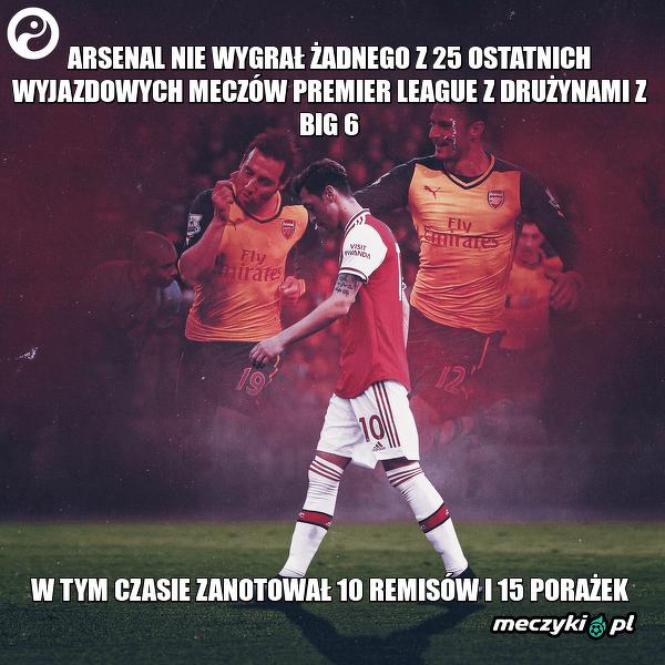 Fatalna seria Arsenalu