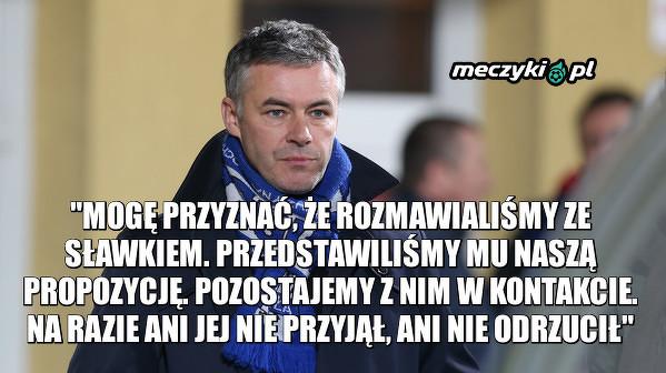 Prezes Wisły Płock, Jacek Kruszewski potwierdził, że Peszko dostał od nich ofertę