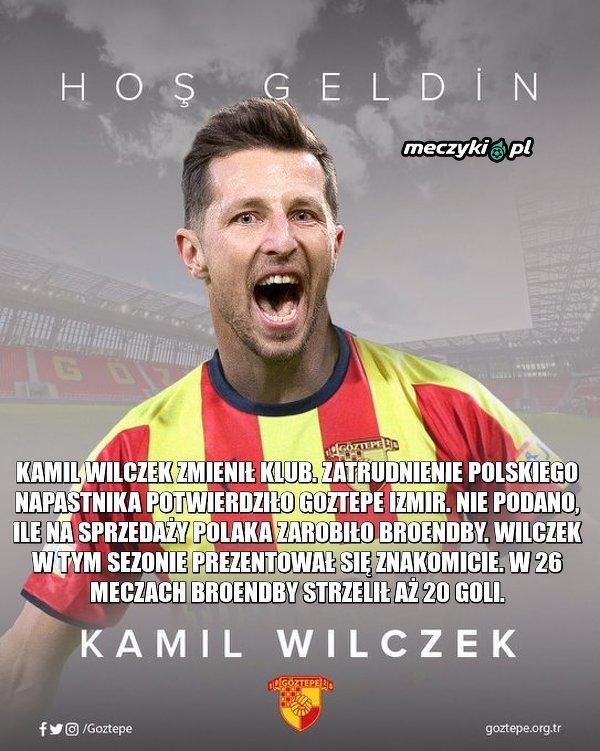 Turecki klub poinformował, że Wilczek podpisał półtoraroczny kontrakt