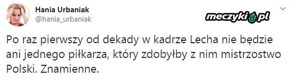 Nietypowa sytuacja w Lechu Poznań