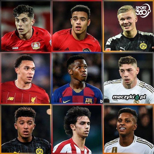 Kto jest najlepszym młodym talentem w tym sezonie?