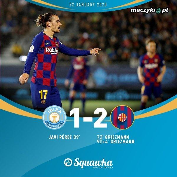 Wymęczone zwycięstwo Barcelony w Pucharze Króla