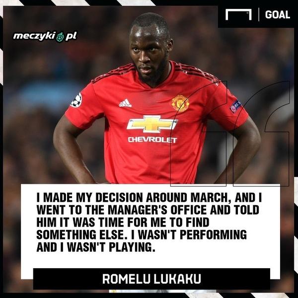 Lukaku już w marcu wiedział, że odejdzie z Manchesteru United