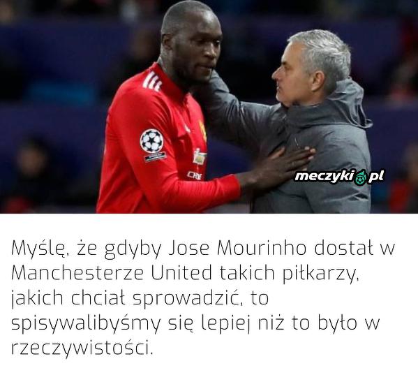 Lukaku wspomina czasy Mourinho w United