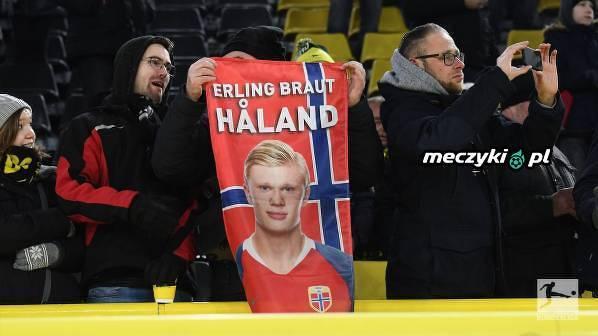 Norwescy fani wspierają Haalanda na Signal Iduna Park